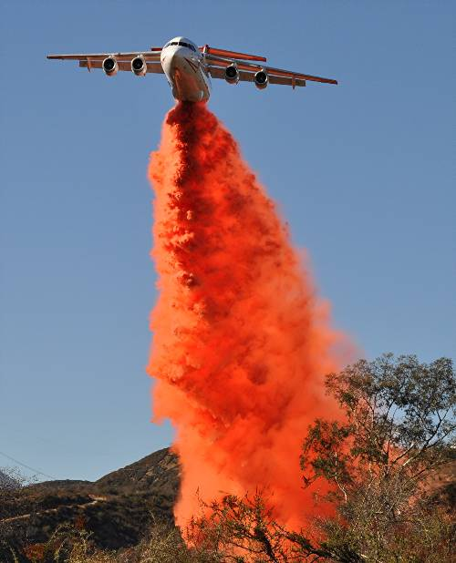 BAe-146 Devore Fire, air tanker,