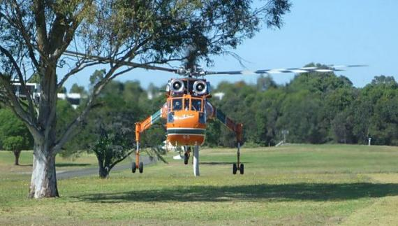 Air-Crane Malcolm at Sydney Olympic Park