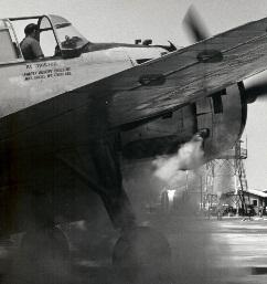 Walt Darran cranking air tanker at Hemet
