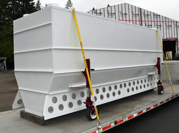 Retardant tank for Coulson C-130Q