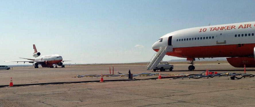 Both DC-10s at Pueblo
