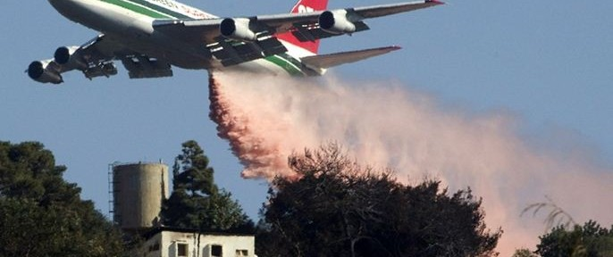 747 dropping