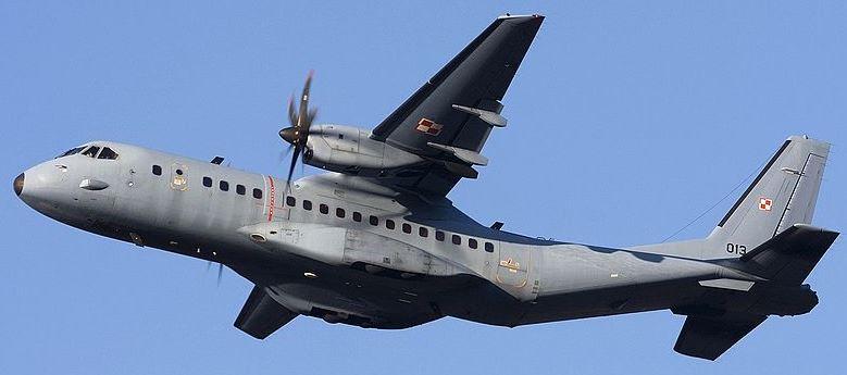 A Polish Air Force CASA C-295M