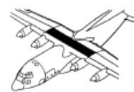 C-130H wing box, diagram
