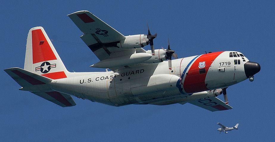 Coast Guard C-130H No 1719