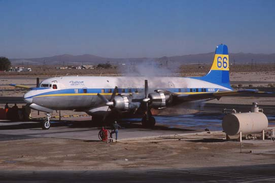 Butler Aviation's Douglas DC7's