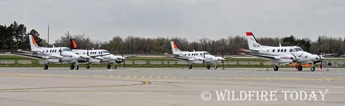 Lead planes at Cheyenne
