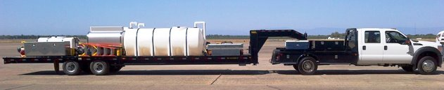 Air Spray mobile retardant base