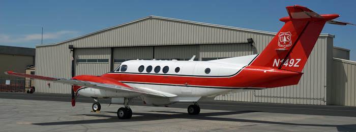 Infrared plane, N149Z