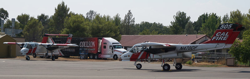 AA-240 and AA 505 and Coulson rig at RDD 8-7-2014