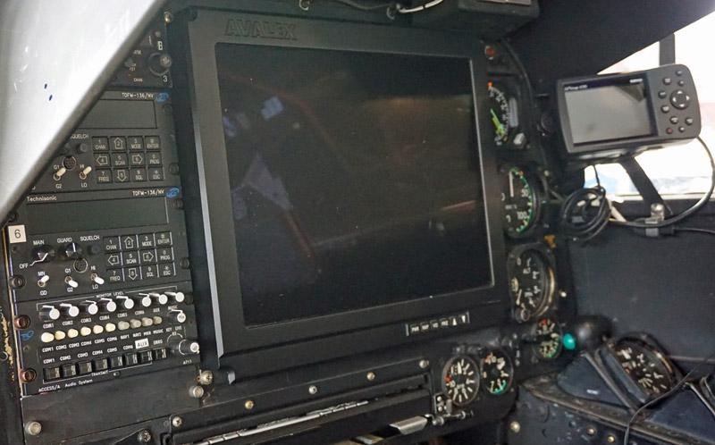 Cobra cockpit