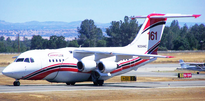 RJ-85, tanker 161