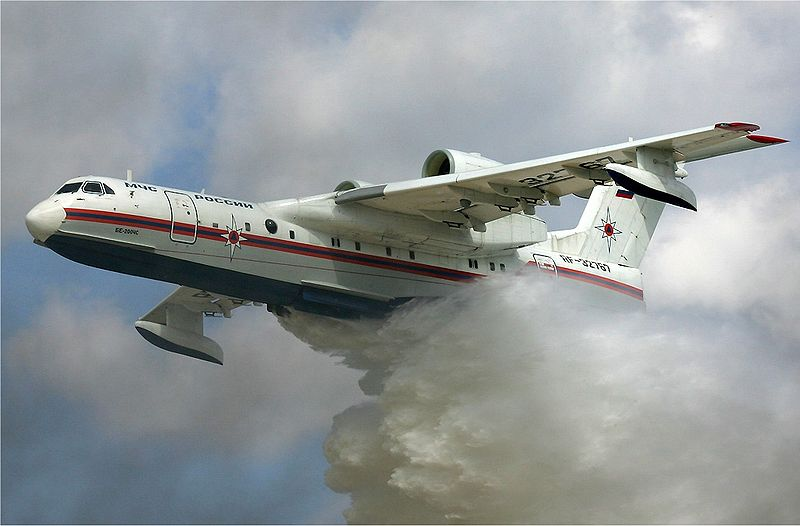 Beriev Be-200 air tanker