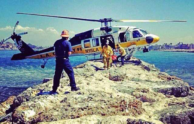 LA County helicopter rescue