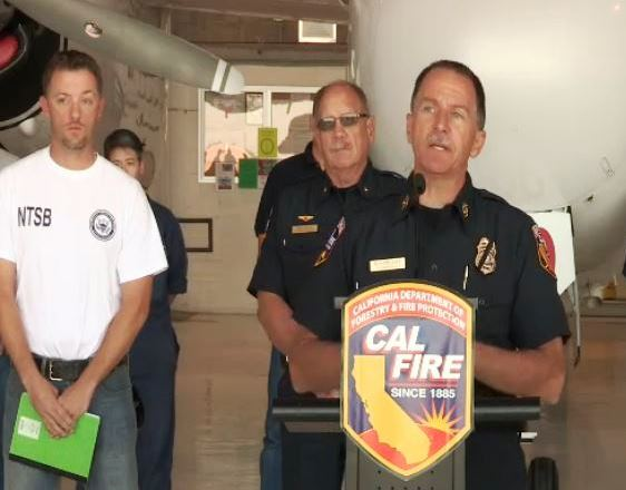 CAL FIRE Director Ken Pimlott