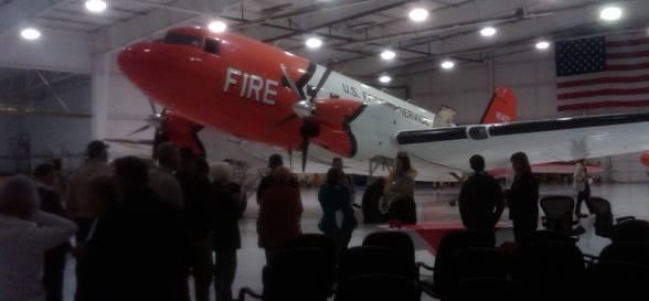 USFS DC-3 retires