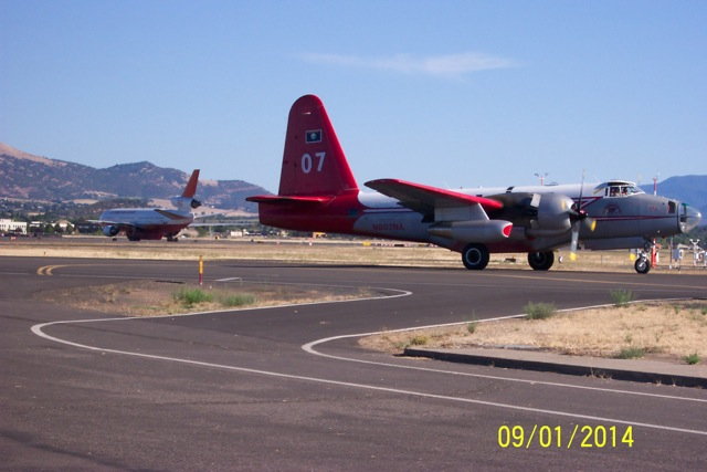 Air tankers at Medford.