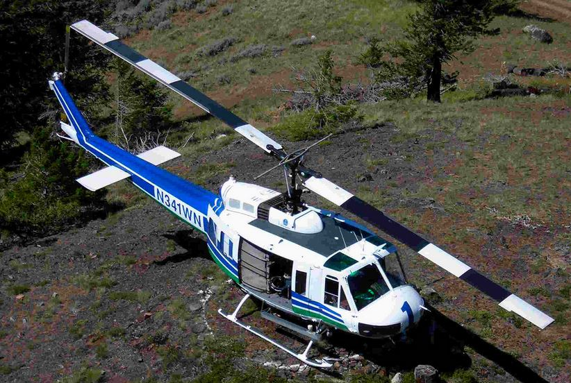 Washington DNR helicopter