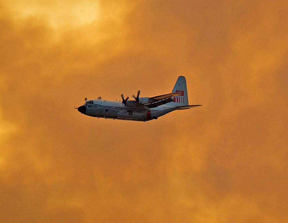 Tanker 118 on the Lowell Fire