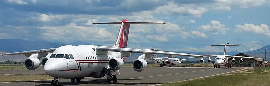18 BAe-146/RJ85 air tankers expected to be operational this year