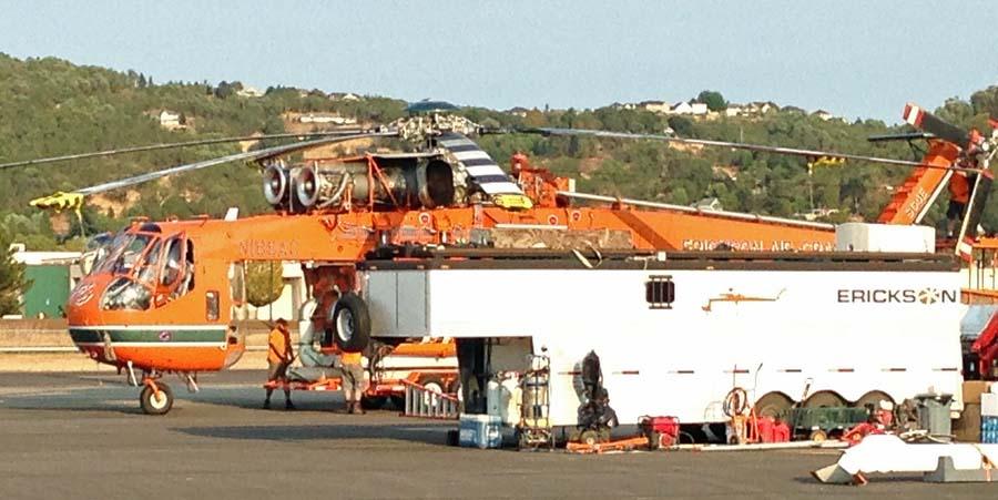 Erickson Air-Crane Roseburg