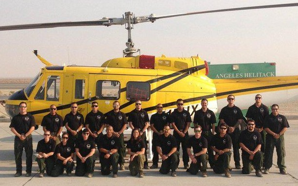 Helicopter 531 wire strike fire