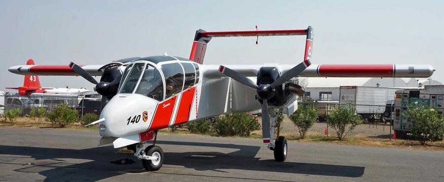 OV-10 Redding Aug 7, 2014