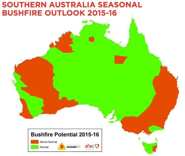 Australia Bushfire Outlook