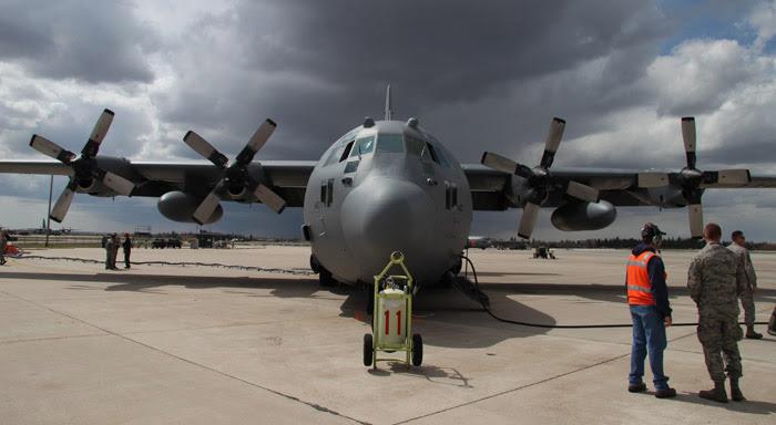 MAFFS air tanker at Cheyenne, Wyoming