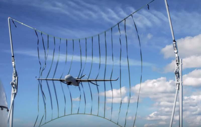 Aerosonde Mark 4.7 recovery