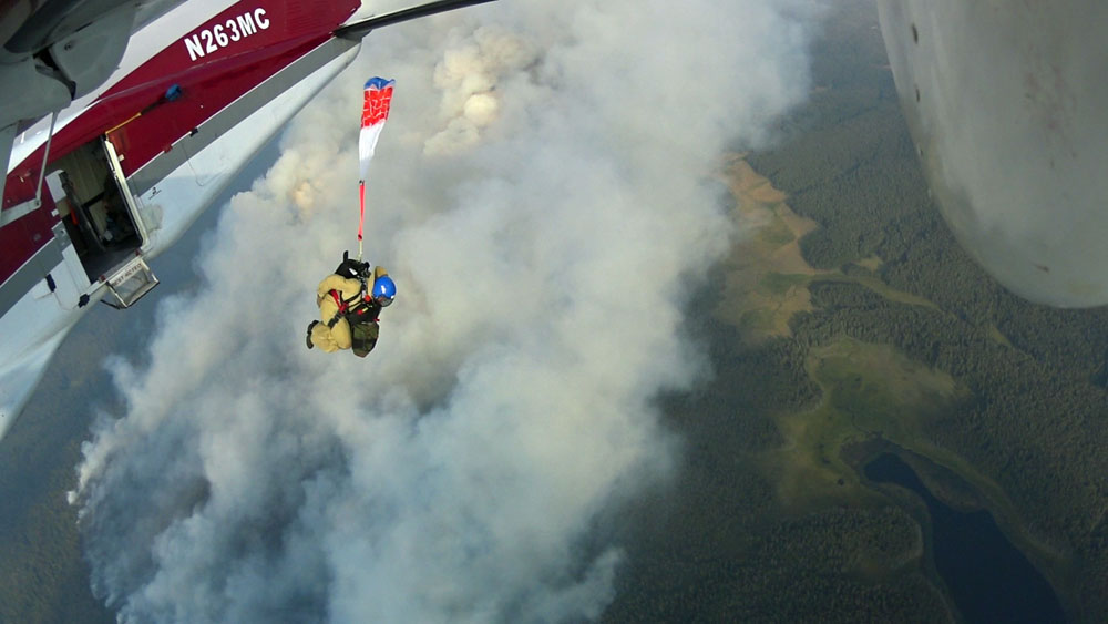 smokejumpers bear lake fire montana