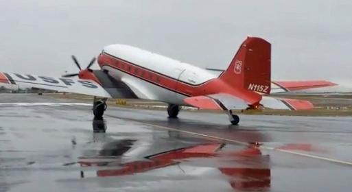 N115Z smokejumper DC-3