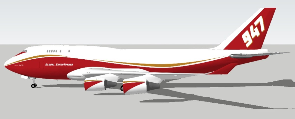 747 Supertanker conversion update