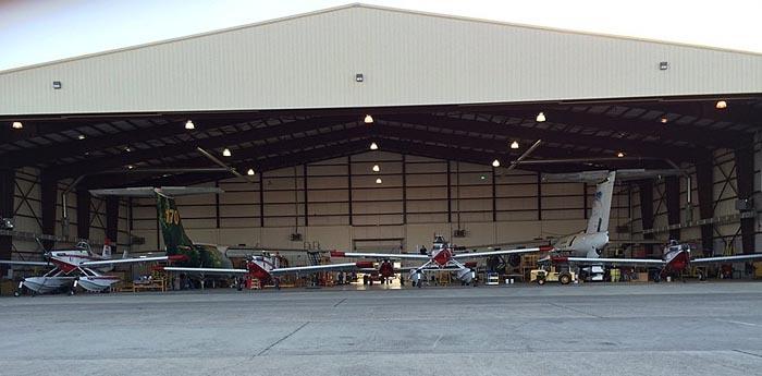 Air Spray Chico hangar