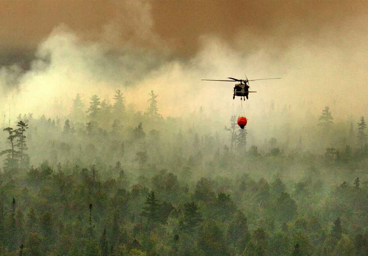 Flashback to 2007: Michigan Army National Guard assists with wildfire