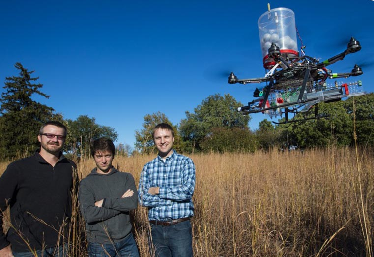 National Park Service plans to use a drone to ignite a prescribed fire