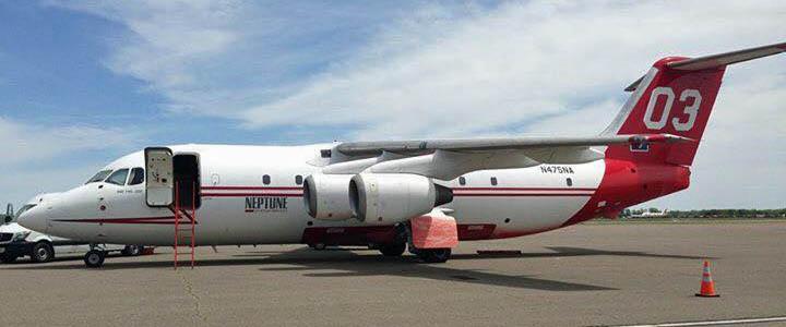 air tanker T-03 Ardmore OK