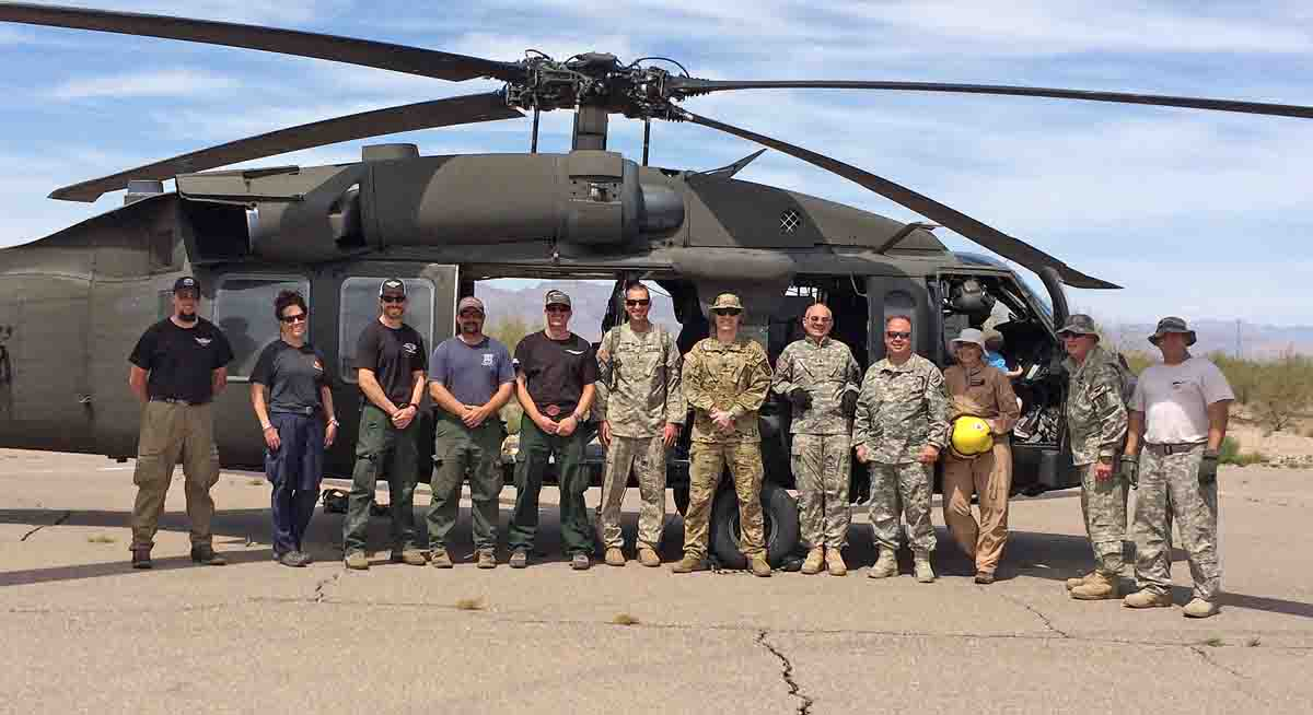 national guard helicopter training Arizona