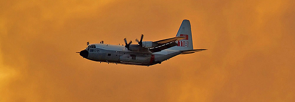 Two USFS HC-130H air tankers to be operational by September