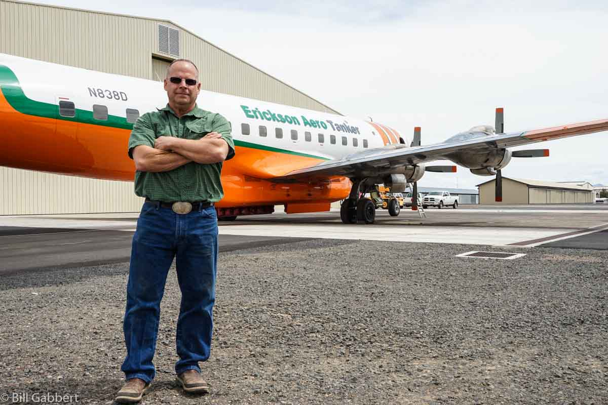 Chuck Rhodes Erickson DC-7