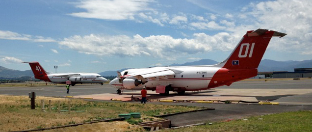 Report from Medford air tanker base, June 9, 2016