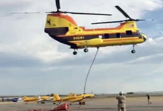 Sky Aviation CH-46E