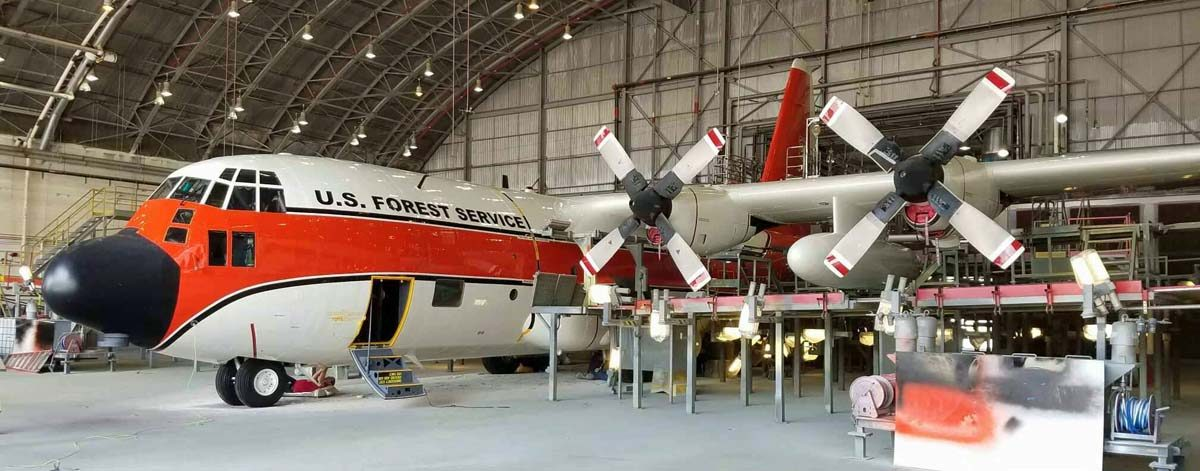 New paint for Air Tanker 116