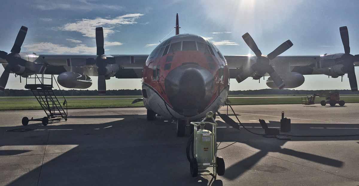USFS air tanker 116 HC-130H