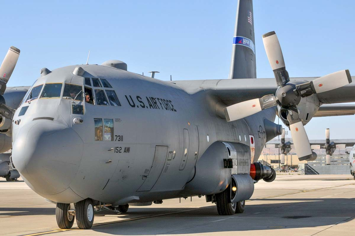 Reno Air National Guard unit begins training with MAFFS