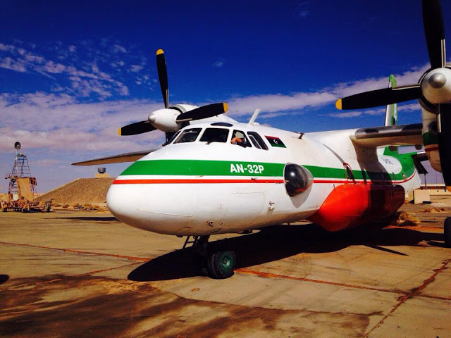 Libya air tanker An-23P