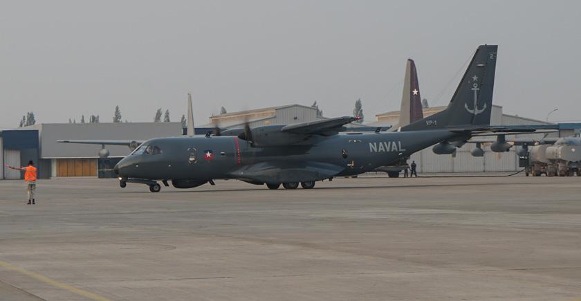Chilean Air Force CASA