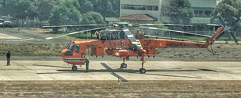 Erickson Air-Crane helicopter