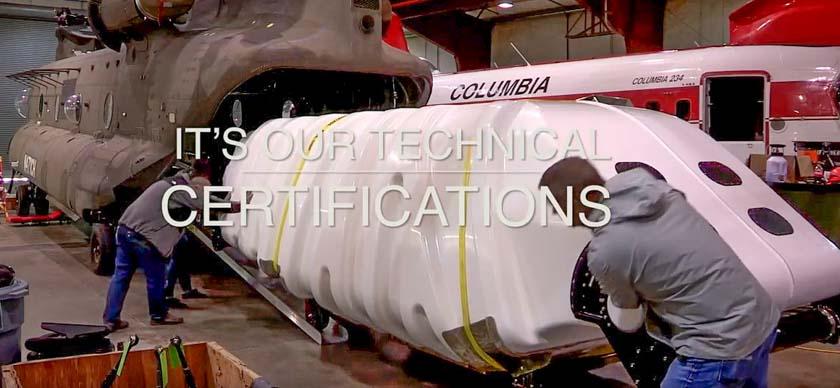 internal water tank Columbia CH-47D