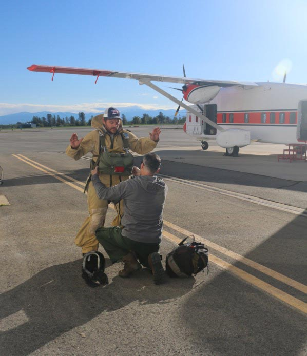 smokejumper training